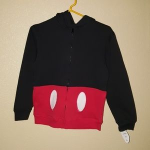 DISNEY MICKEY MOUSE SWEATER   WITH HOODIE